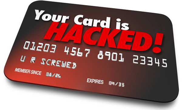 Hacked Credit or Debit Card.