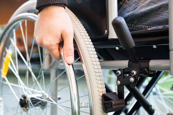 Man in a Wheelchair.