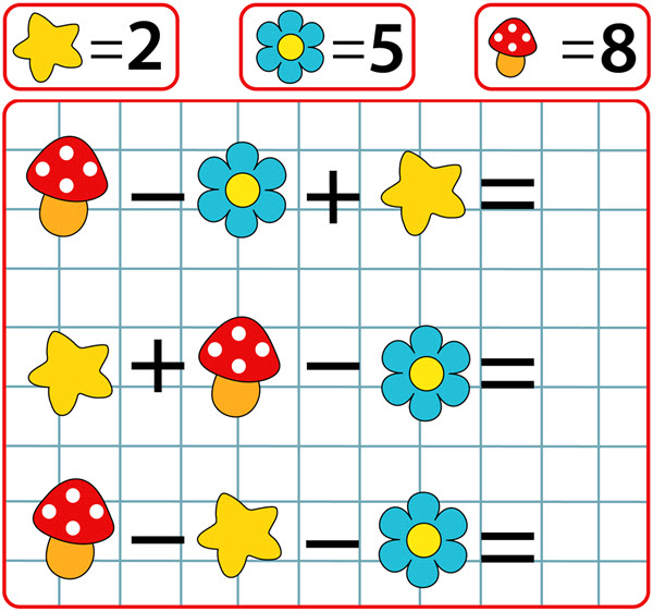 Picture of a Math Game.